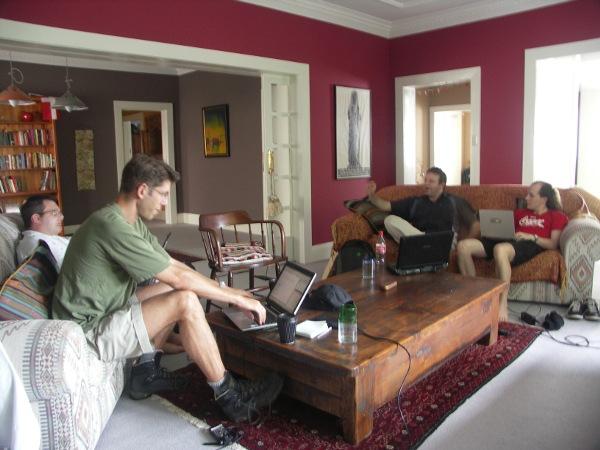 hackfest living room