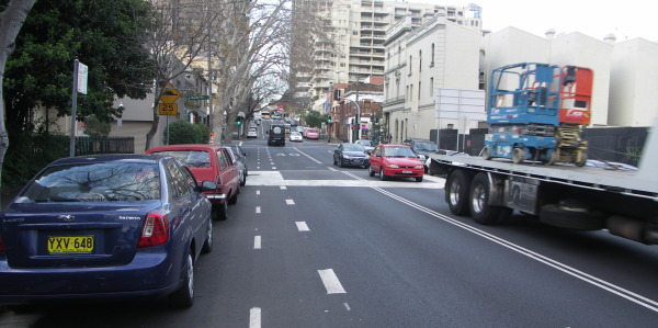 not a cycle lane